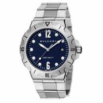 Bulgari Diagono nowość 2019 Automatyczny Zegarek z oryginalnym pudełkiem i oryginalnymi dokumentami DP41C3SSSD 102586