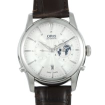 Oris Artelier Worldtimer new Automatic Watch with original box and original papers 01 690 7690 4081-07 1 22 73FC