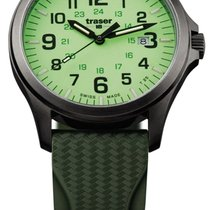 Traser Steel Green 42mm new
