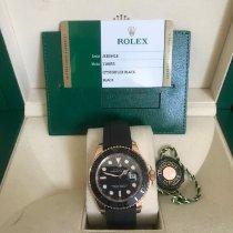 Rolex Yacht-Master 40 Rosa guld 40mm Sort Ingen tal Danmark, glostrup