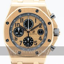 Audemars Piguet Royal Oak Offshore Chronograph Roségull 42mm Rosa