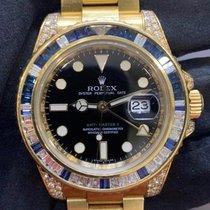 Rolex 116758SA Zuto zlato 2008 GMT-Master II 40mm rabljen