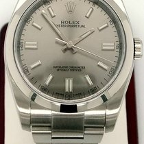 Rolex Oyster Perpetual 36 Steel 36mm Silver No numerals United States of America, New York, New York