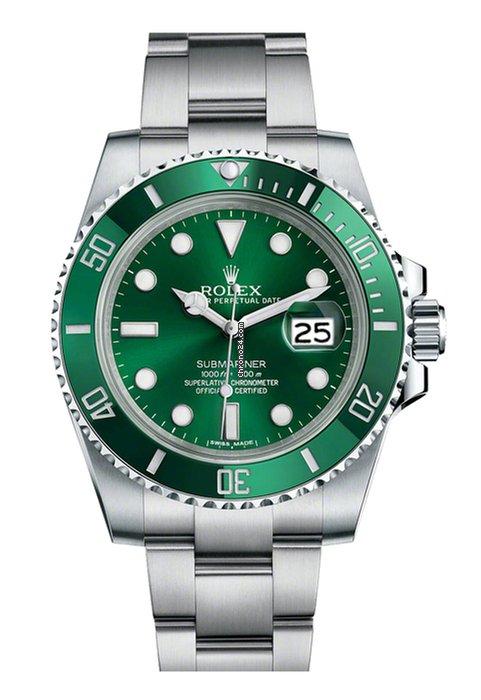 Rolex Submariner Green Date Hulk
