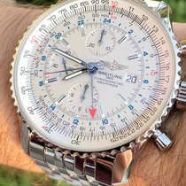 Breitling Navitimer World Steel 46mm Silver Arabic numerals United States of America, Texas, Plano