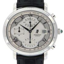 Audemars Piguet Millenary Chronograph Stahl 41mm Silber Römisch