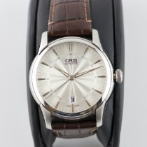 Oris Artelier Date Steel 40mm Silver United States of America, Maryland, Monkton