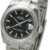 Rolex Datejust 31 black index