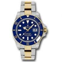 Rolex Submariner Date new Watch with original box and original papers 116613 BLU