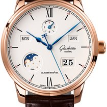 Glashütte Original Senator Excellence Rose gold 42mm Silver United States of America, New York, Airmont