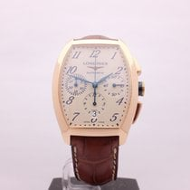Longines Evidenza Large Chronograph 18kt Rose Gold