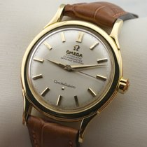 Omega Constellation Pie Pan 18K Gold Automatic Service 11/17