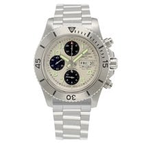 Breitling A13341C3.G782.162A Steel Superocean Chronograph Steelfish 44mm new