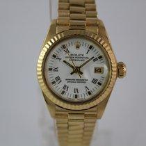 Rolex Lady-Datejustv18k Gold #A3331 LC100 Box, Papiere