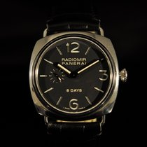 Panerai Radiomir 8 Days Acier 45mm Noir Arabes France, Paris