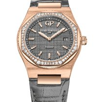 Girard Perregaux 80189D52A232-CB6A Rose gold 2020 Laureato 34mm new