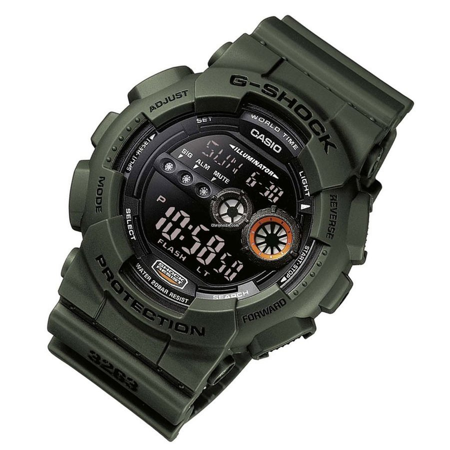 Casio Mens Gd 100ms 3er G Shock Military Watch For 3190 Sale 400mb 1 From A Seller On Chrono24