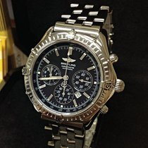 Breitling Shadow Flyback Black Dial - Serviced by Breitling