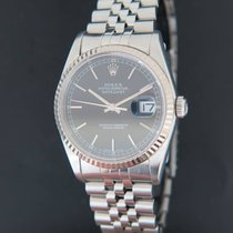 Rolex 36mm Automatisch 2005 tweedehands Datejust (Submodel) Zwart