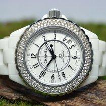 Chanel Chronometer 38mm Automatik gebraucht J12 Weiß