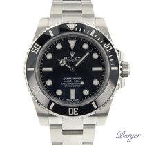 Rolex Submariner (No Date) novo 40mm Aço
