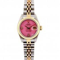Rolex Lady-Datejust Gold/Steel 26mm Pink No numerals UAE, Dubai