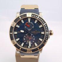 Ulysse Nardin Hammerhead Shark Gold/Steel 45mm Blue No numerals