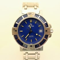 Lucien Rochat 40mm Automatic pre-owned Blue