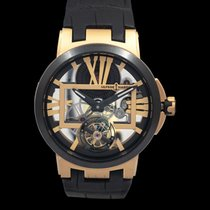 Ulysse Nardin Executive Skeleton Tourbillon new Manual winding Watch with original box and original papers 1712-139