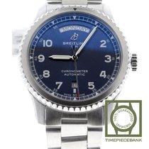 Breitling Navitimer 8 Steel 41mm Blue Arabic numerals