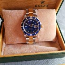 Rolex Submariner Date Gold/Steel 40mm Purple No numerals Finland, Lieto