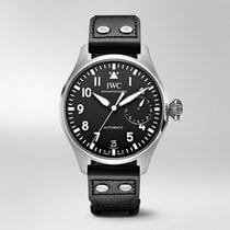 IWC Big Pilot Steel Black Arabic numerals United States of America, Iowa, Des Moines