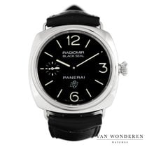 Panerai Radiomir Black Seal tweedehands 45mm Zwart Leer
