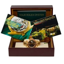 Rolex GMT-Master Yellow gold 40mm Black No numerals United States of America, California, Los Angeles