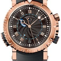 Breguet Marine 5847BR/Z2/5ZV Very good Rose gold 45mm Automatic