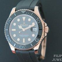 Rolex Yacht-Master 37 Růžové zlato 37mm Černá