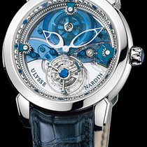 Ulysse Nardin Royal Blue Tourbillon Платина 41mm