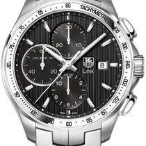 TAG Heuer Link Calibre 16 new Automatic Chronograph Watch with original box and original papers CAT2010.BA0952