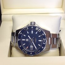 TAG Heuer Aquaracer 500M Steel Blue No numerals