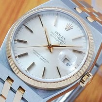 Rolex Gold & S/S OysterQuartz DateJust Men's Watch