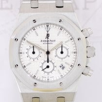 Audemars Piguet Royal Oak Chronograph Stahl white Dial Stahl...