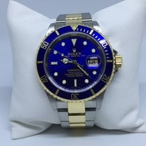 Rolex Submariner 16613 Blue Dial Steel and Gold