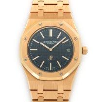 Audemars Piguet Rose Gold Royal Oak Extra-Thin Watch Ref. 15202