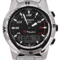 Tissot T-Touch II Titanium Black Dial