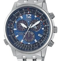Citizen Promaster Sky AS4050-51L CITIZEN CRONO PILOT TITANIO Radiocontrollato 45m new