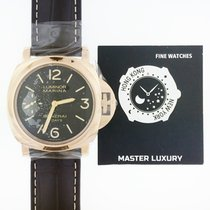 Panerai Luminor Marina 8 Days new 44mm Rose gold