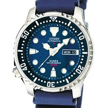 Citizen PROMASTER Diver's Automatic 42mm Blue Polyurethane