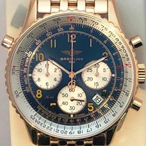 Breitling Red gold Automatic Blue Arabic numerals 38mm pre-owned