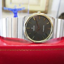 Concord Mariner Sg Stainless Steel & 18k Thin Quartz Watch