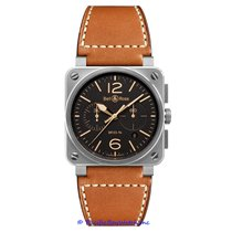 Bell & Ross BR 03-94 Chronographe Steel 42mm Brown Arabic numerals United States of America, California, Newport Beach